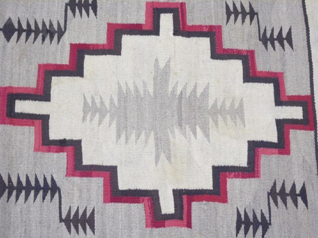 Two Heavy Fabric Woven Earthtone Rugs - 7