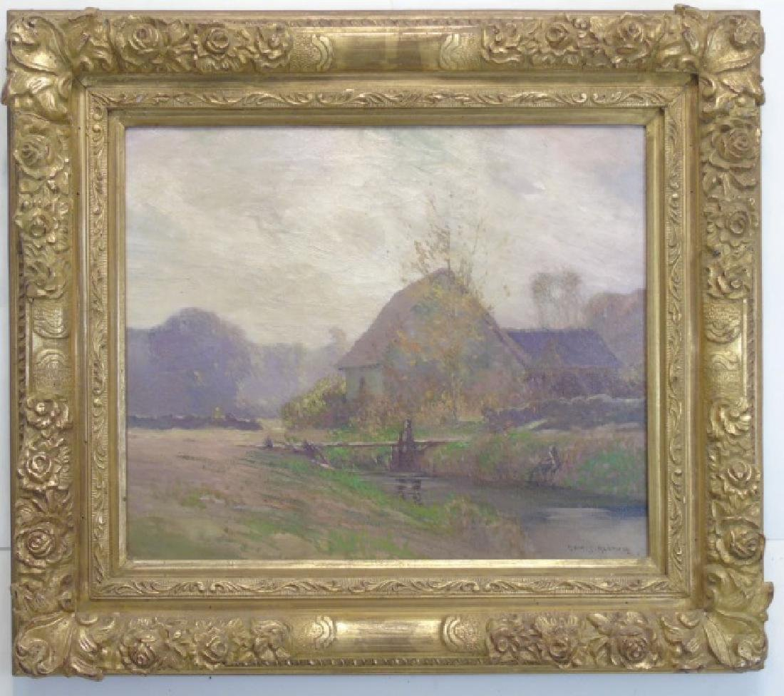 G. Ames Aldrich - Signed Oil Painting on Canvas