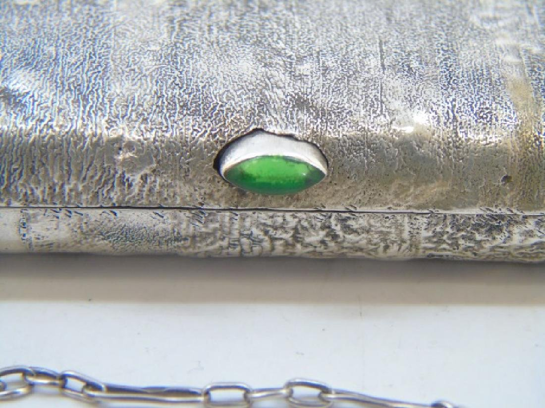 Antique Imperial Russian Silver Purse / Hand Bag - 4
