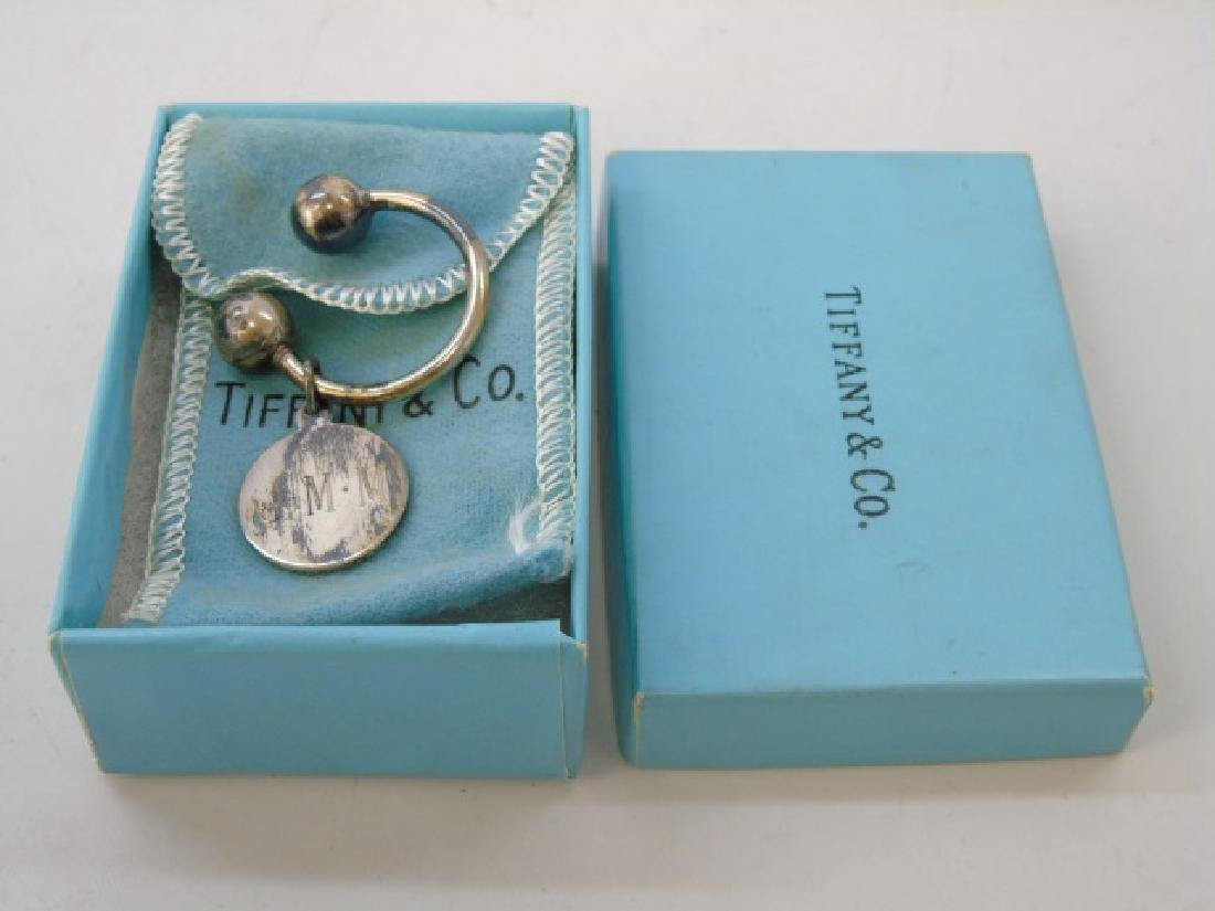 Tiffany & Co Sterling Silver in Box Key Ring