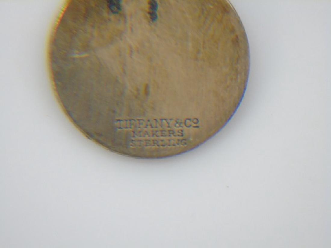 Tiffany & Co Sterling Silver in Box Key Ring - 2