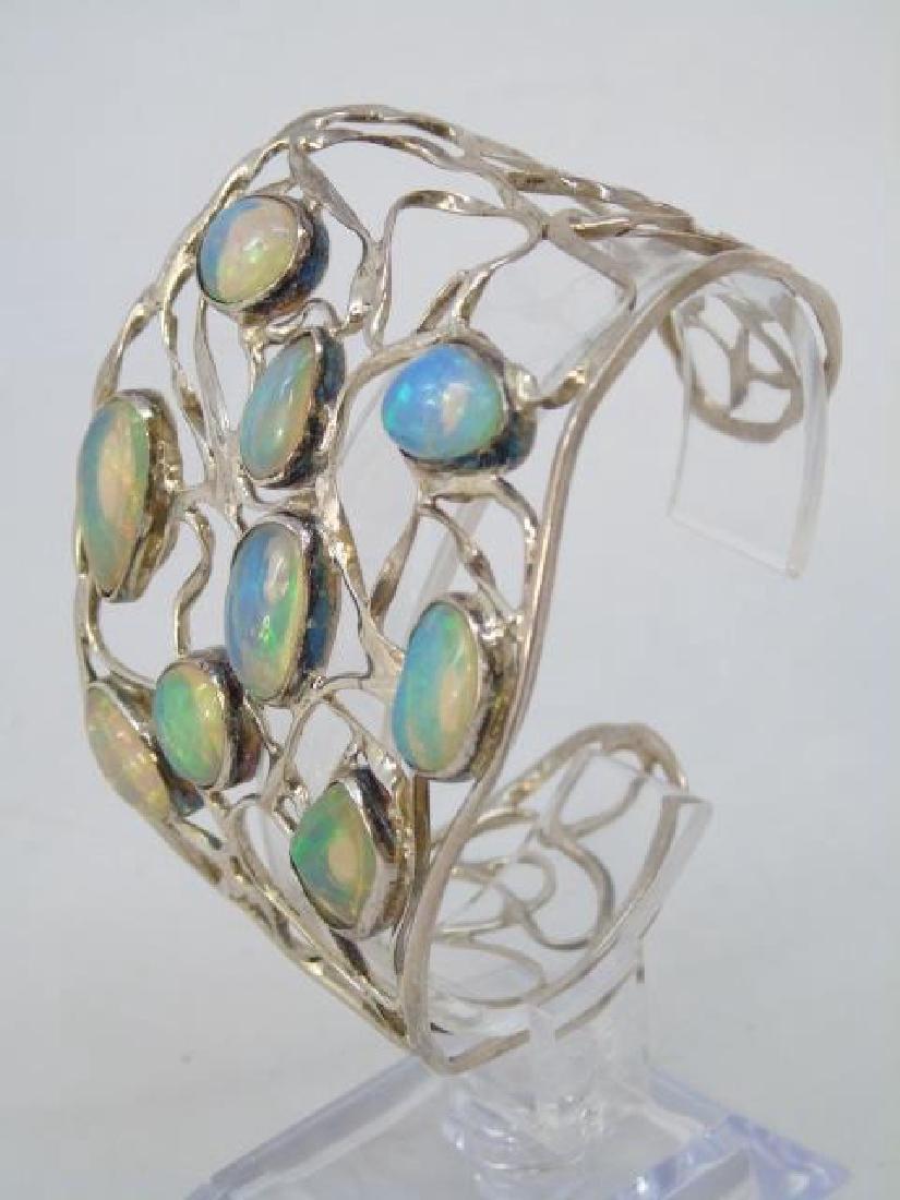 Sterling Silver Group Lot - Bracelets & Necklace - 2