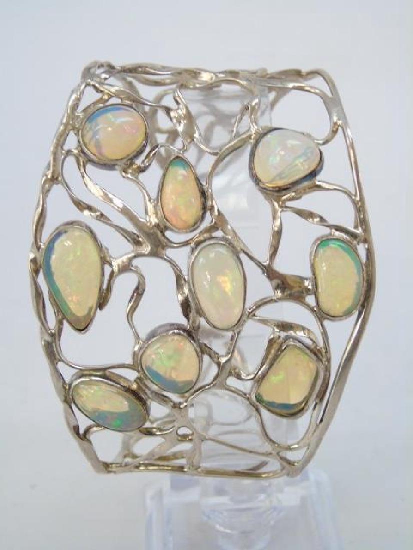 Sterling Silver Group Lot - Bracelets & Necklace - 6