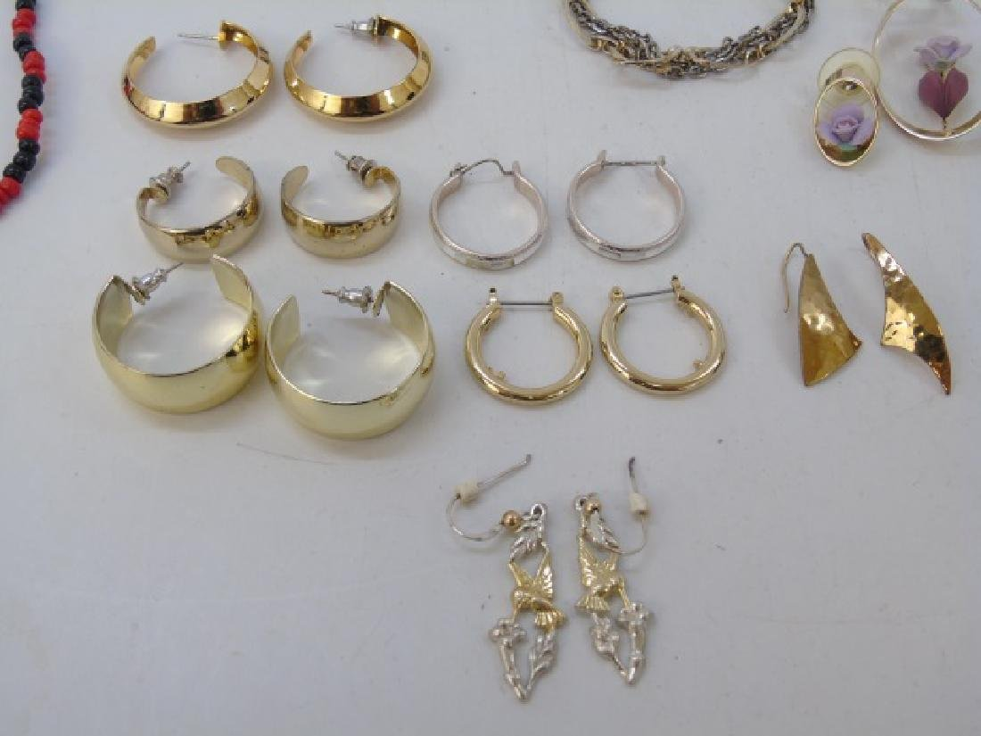Large Group of Vintage Costume Jewelry & Parts - 2