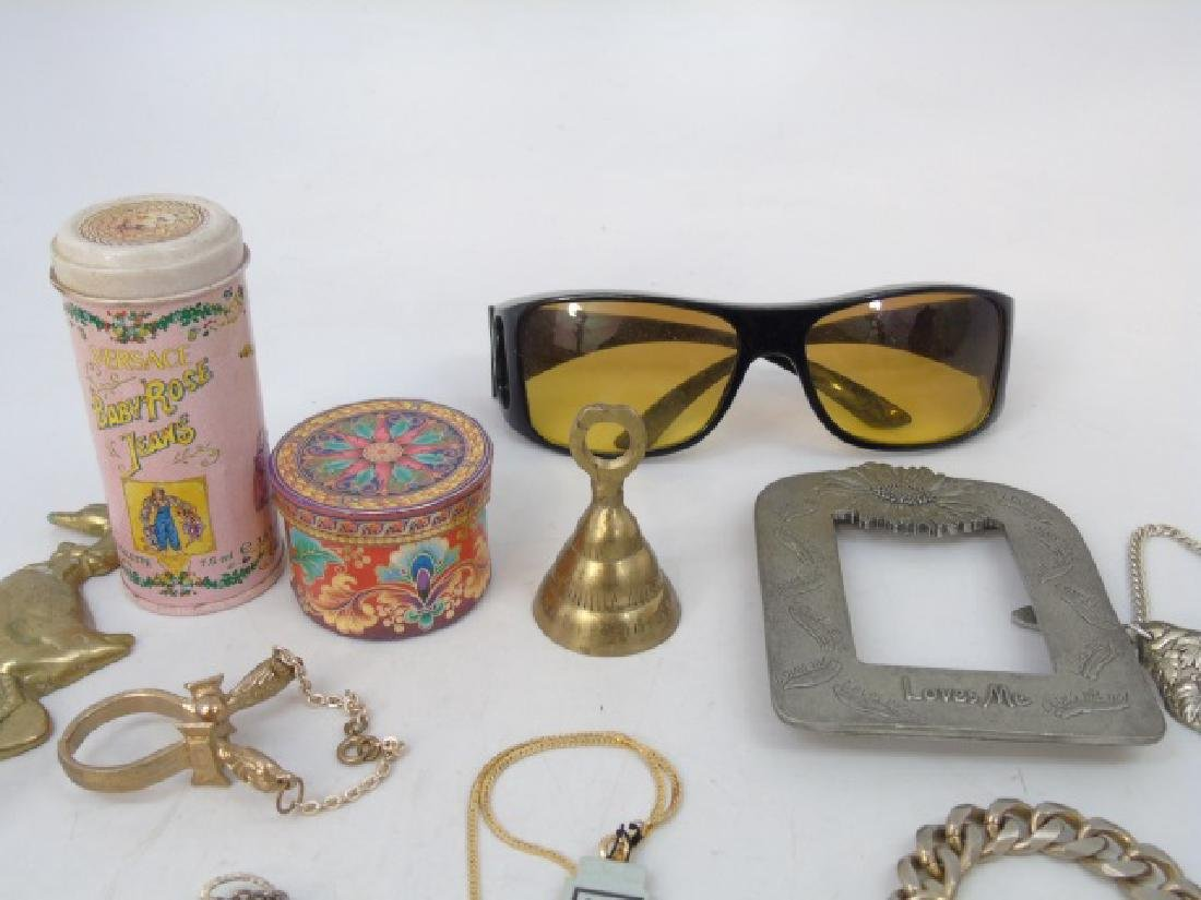 Large Group of Vintage Costume Jewelry & Parts - 3