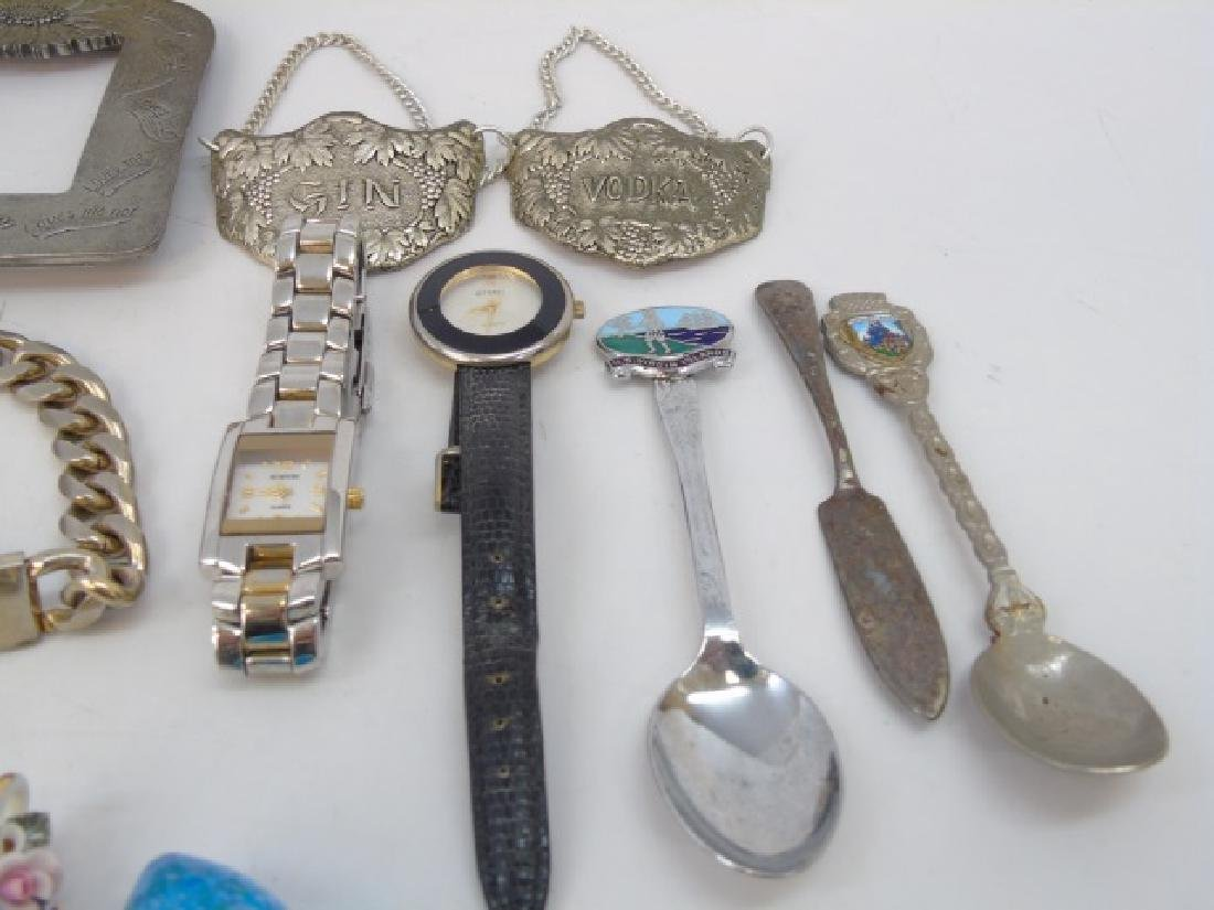 Large Group of Vintage Costume Jewelry & Parts - 4