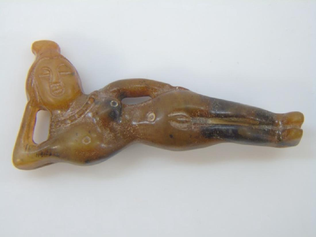 Chinese Doctor Doll & Archaic Style Insect Pendant - 2
