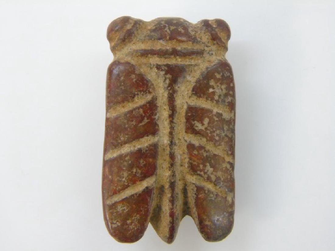 Chinese Doctor Doll & Archaic Style Insect Pendant - 4