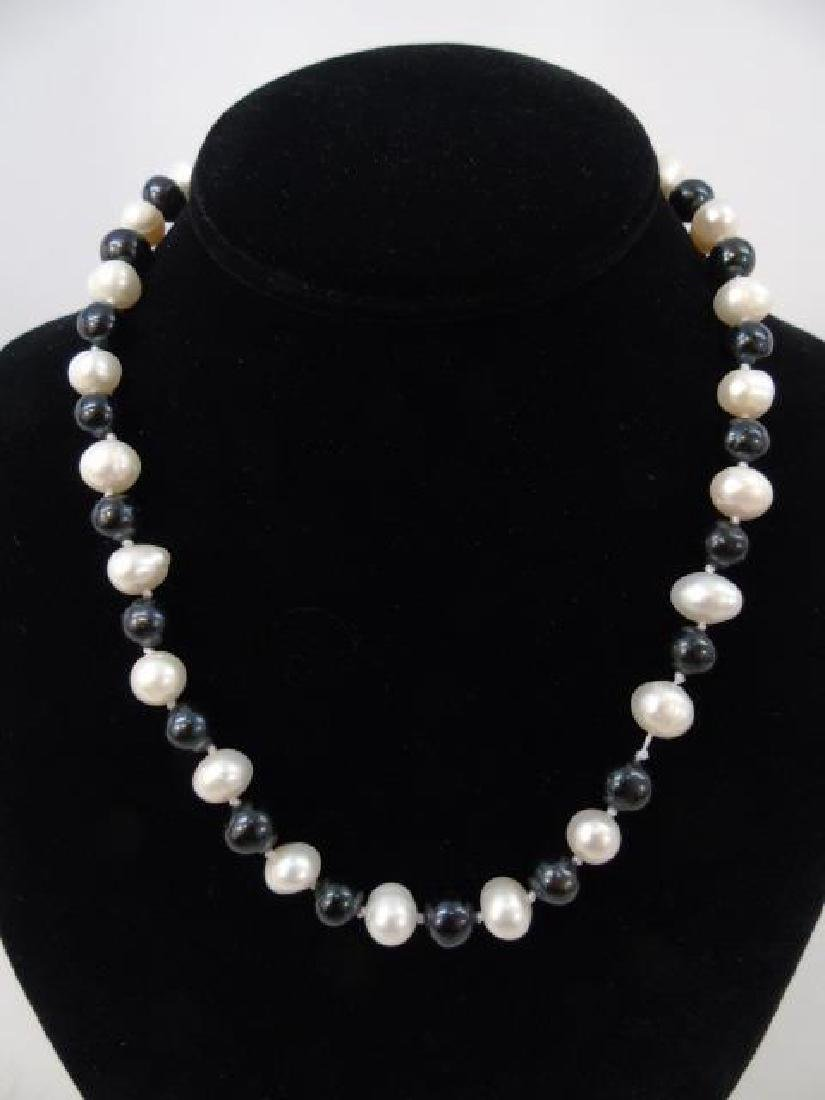 Group of Four Baroque Pearl Necklace Strands - 3