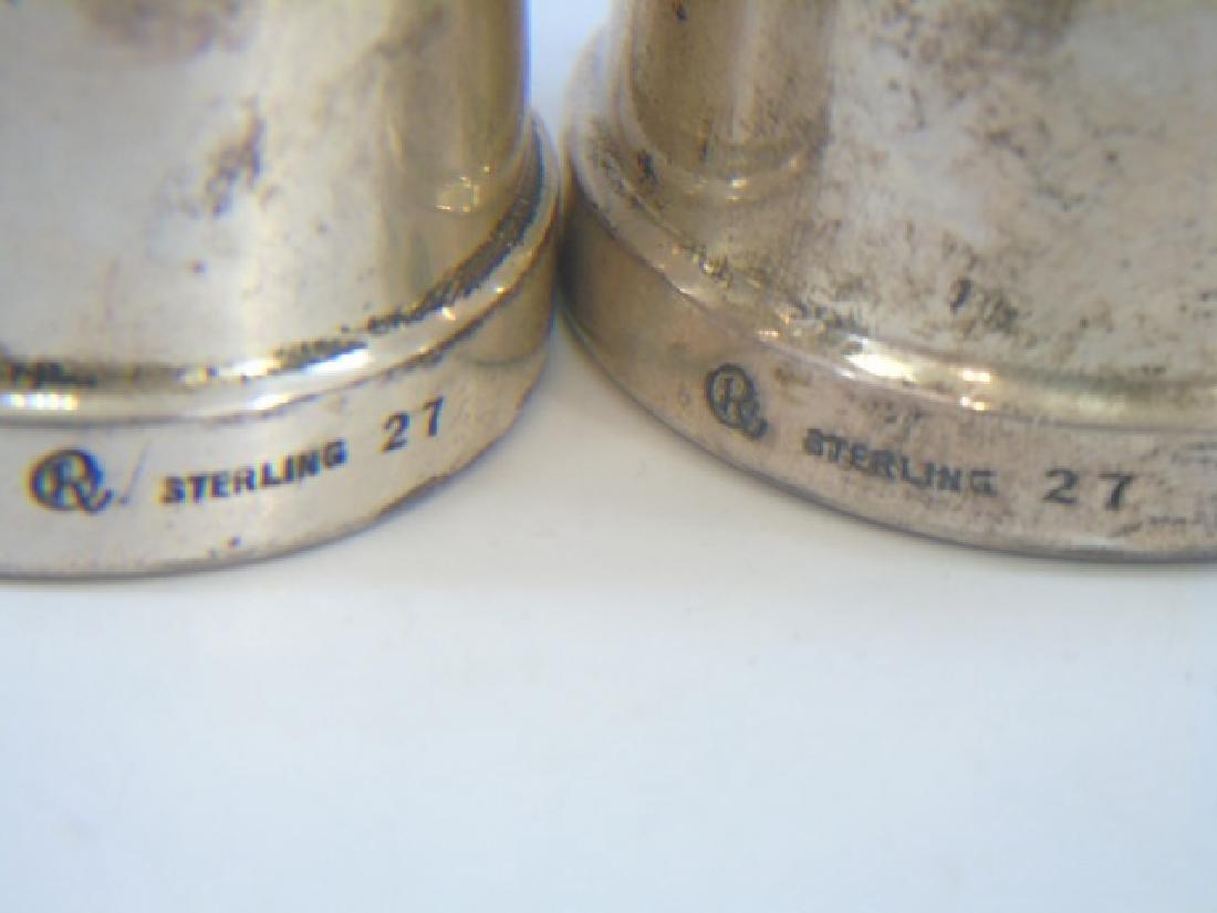 Sterling Silver Porringer & Salt / Pepper Shakers - 2