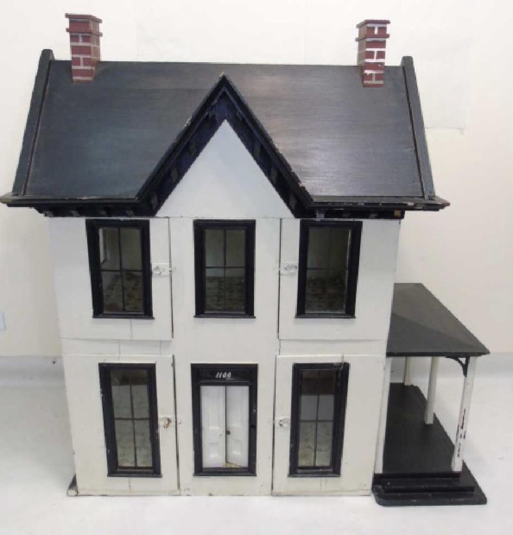 Antique 19th C Victorian American Dollhouse