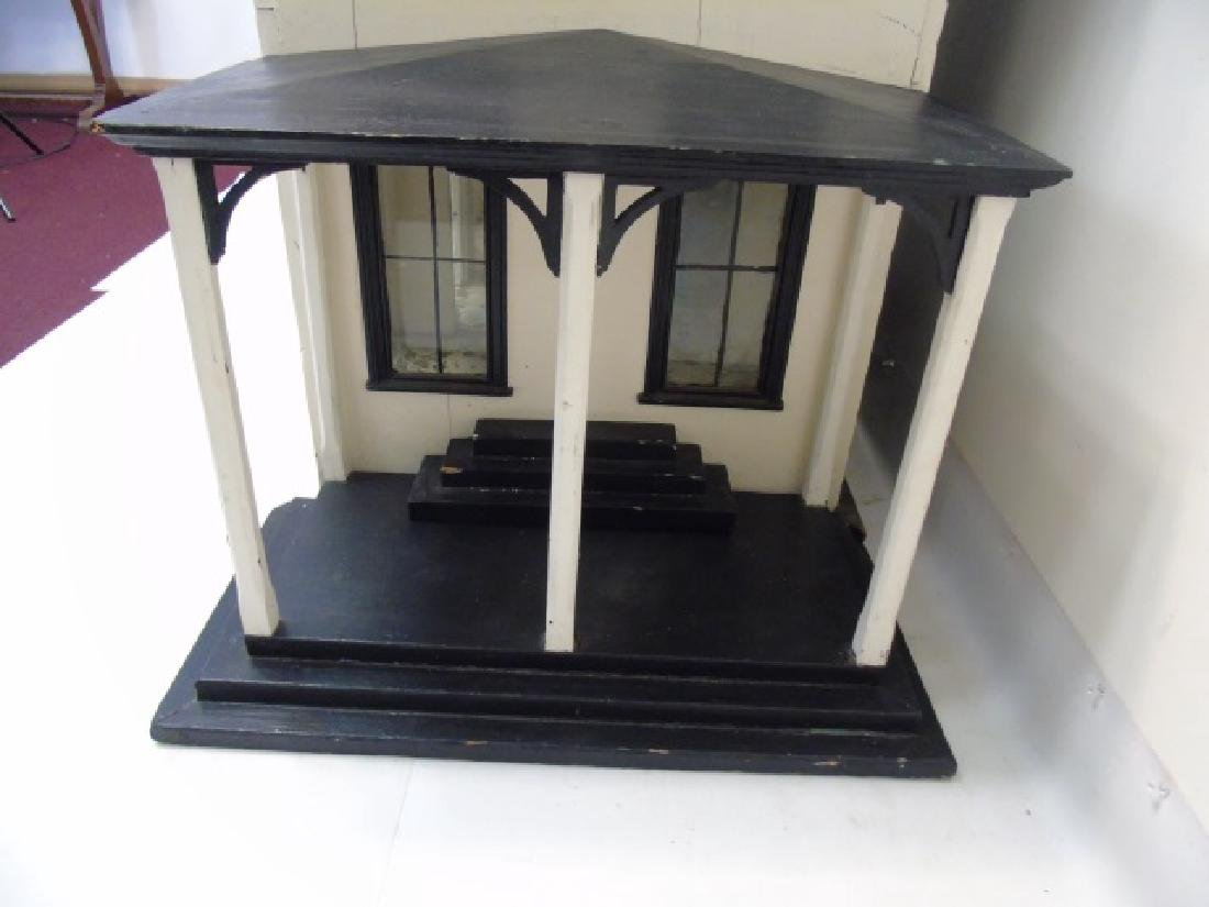 Antique 19th C Victorian American Dollhouse - 2