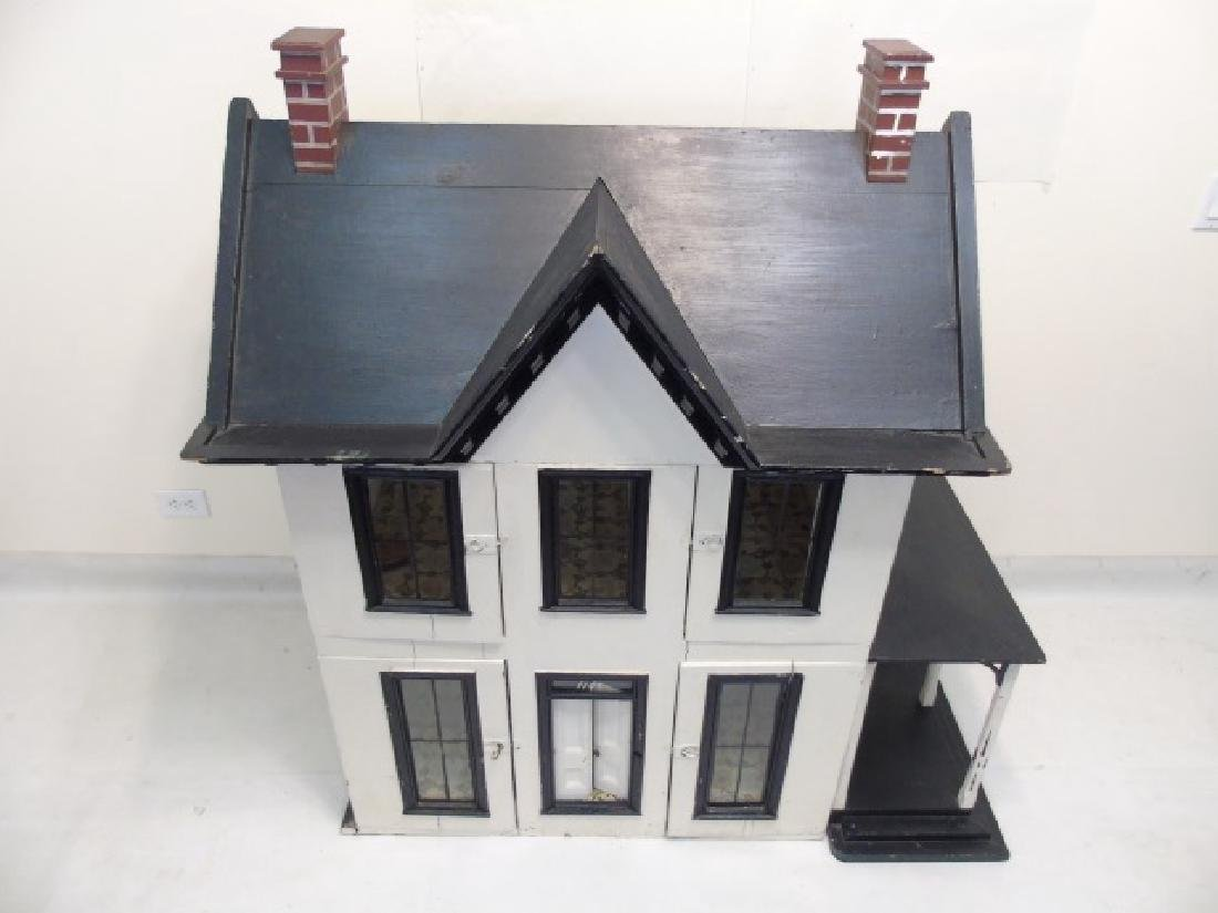 Antique 19th C Victorian American Dollhouse - 3