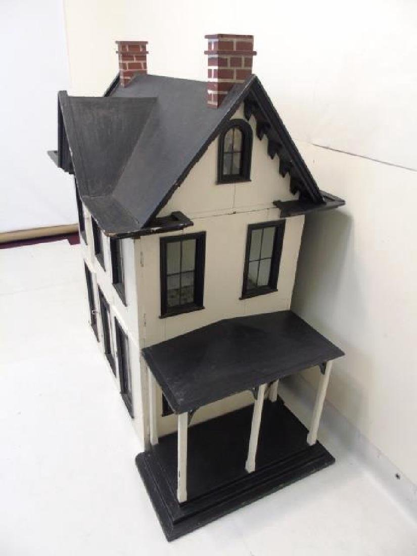 Antique 19th C Victorian American Dollhouse - 4