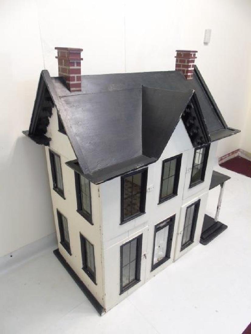 Antique 19th C Victorian American Dollhouse - 5