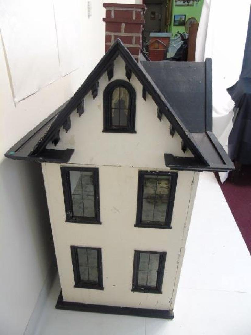 Antique 19th C Victorian American Dollhouse - 6