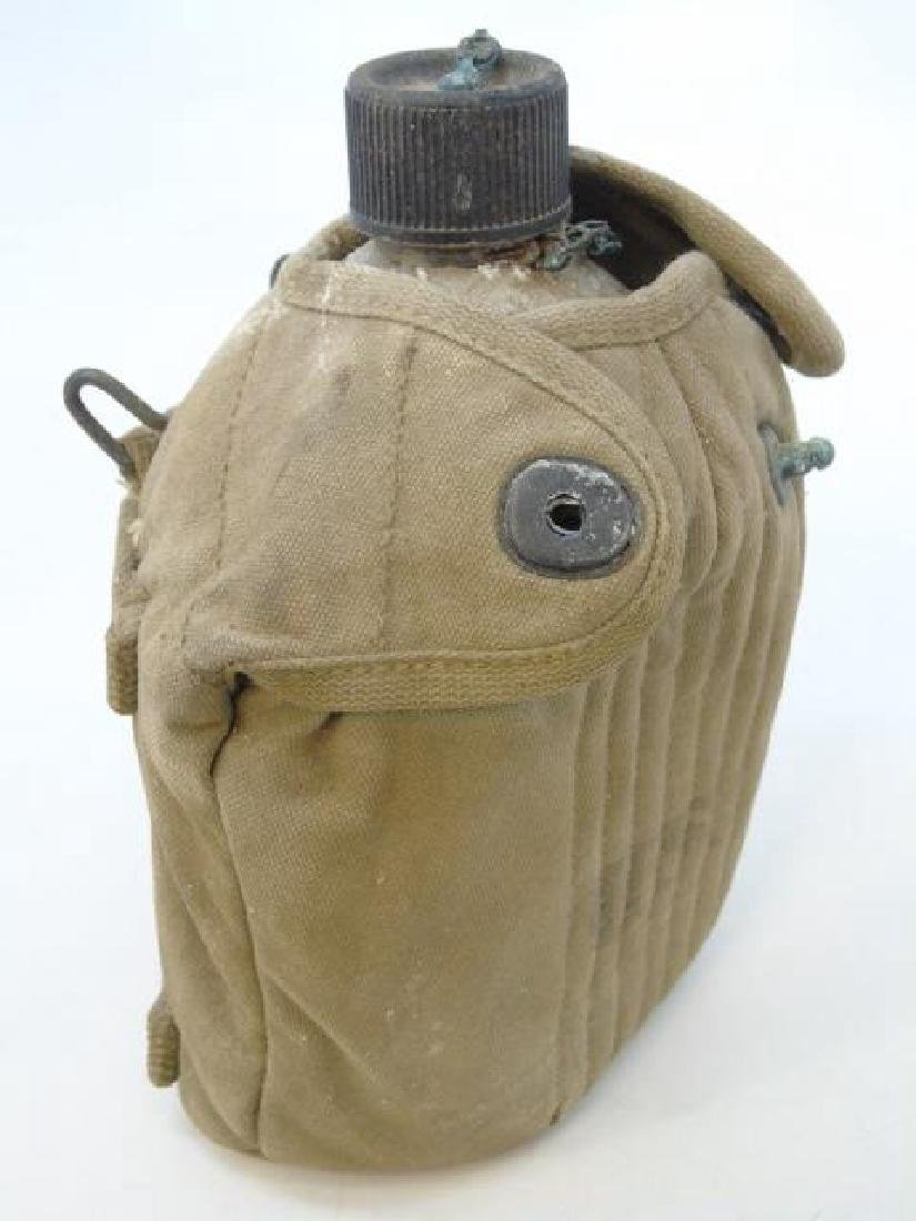 Vintage US Military Items - Canteen & Hat - 2
