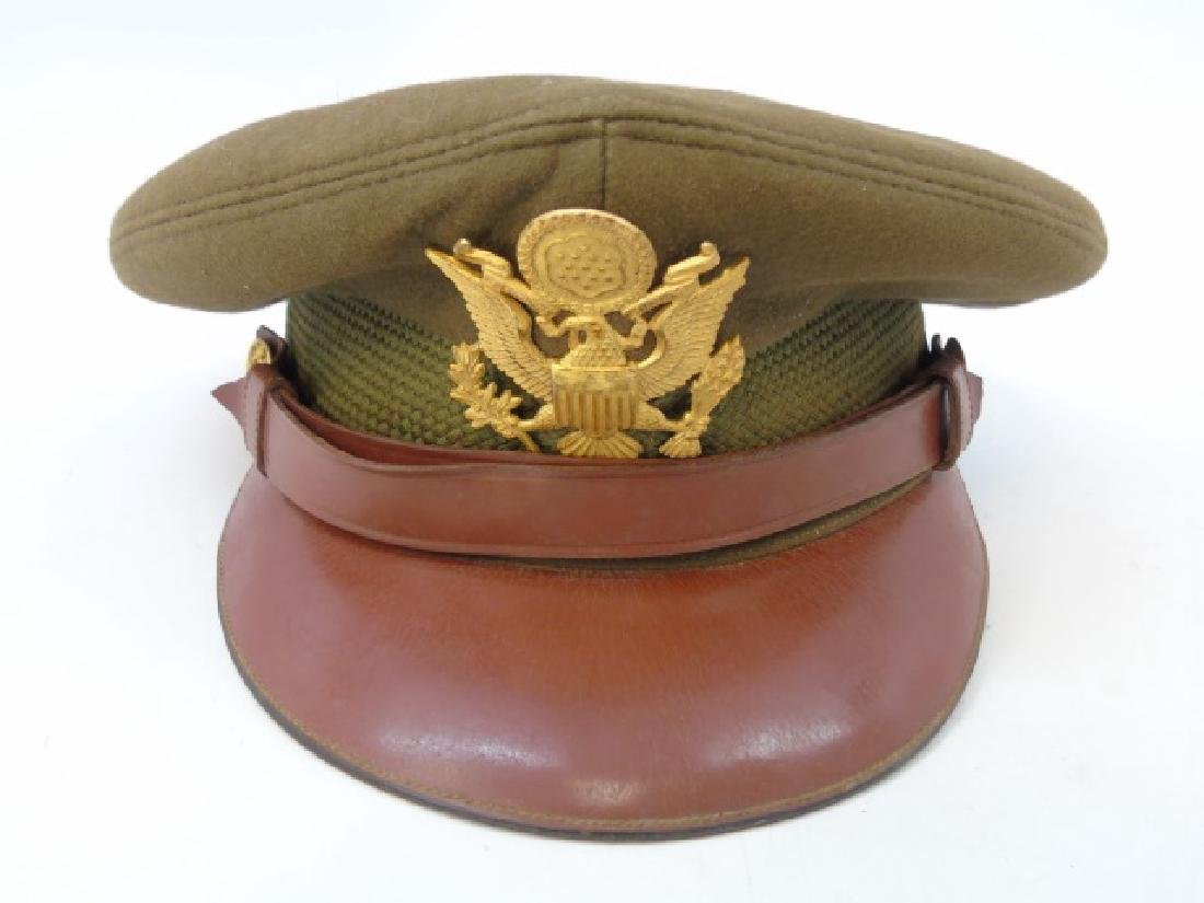 Vintage US Military Items - Canteen & Hat - 3