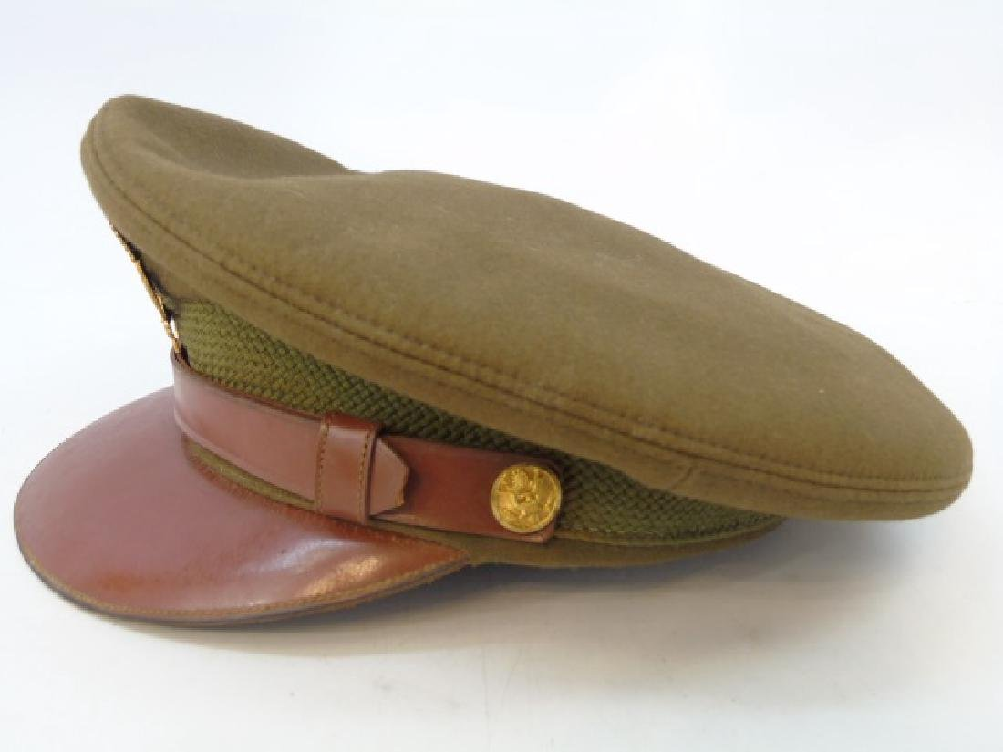 Vintage US Military Items - Canteen & Hat - 4