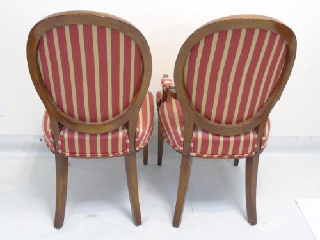 Nancy Corzine Contemporary Louis XVI Dining Chairs - 4