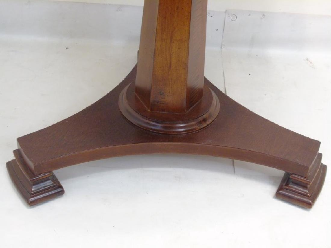 Contemporary Empire Style Round Pedestal Table - 3