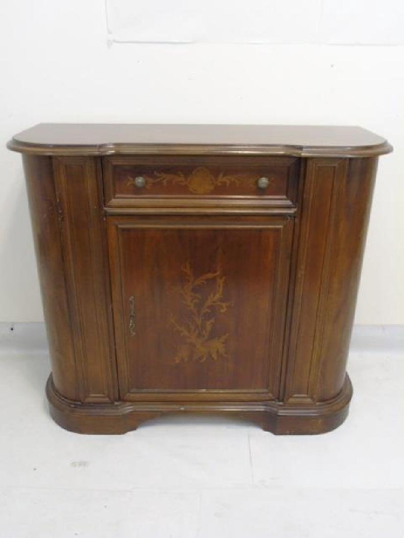 Italian Chest with Upper Drawer & Latched Cabinet