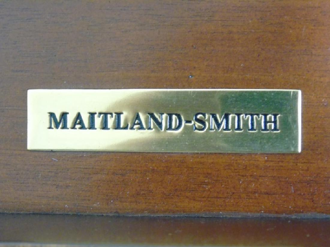 Maitland Smith Barley Twist Detail End Table - 3
