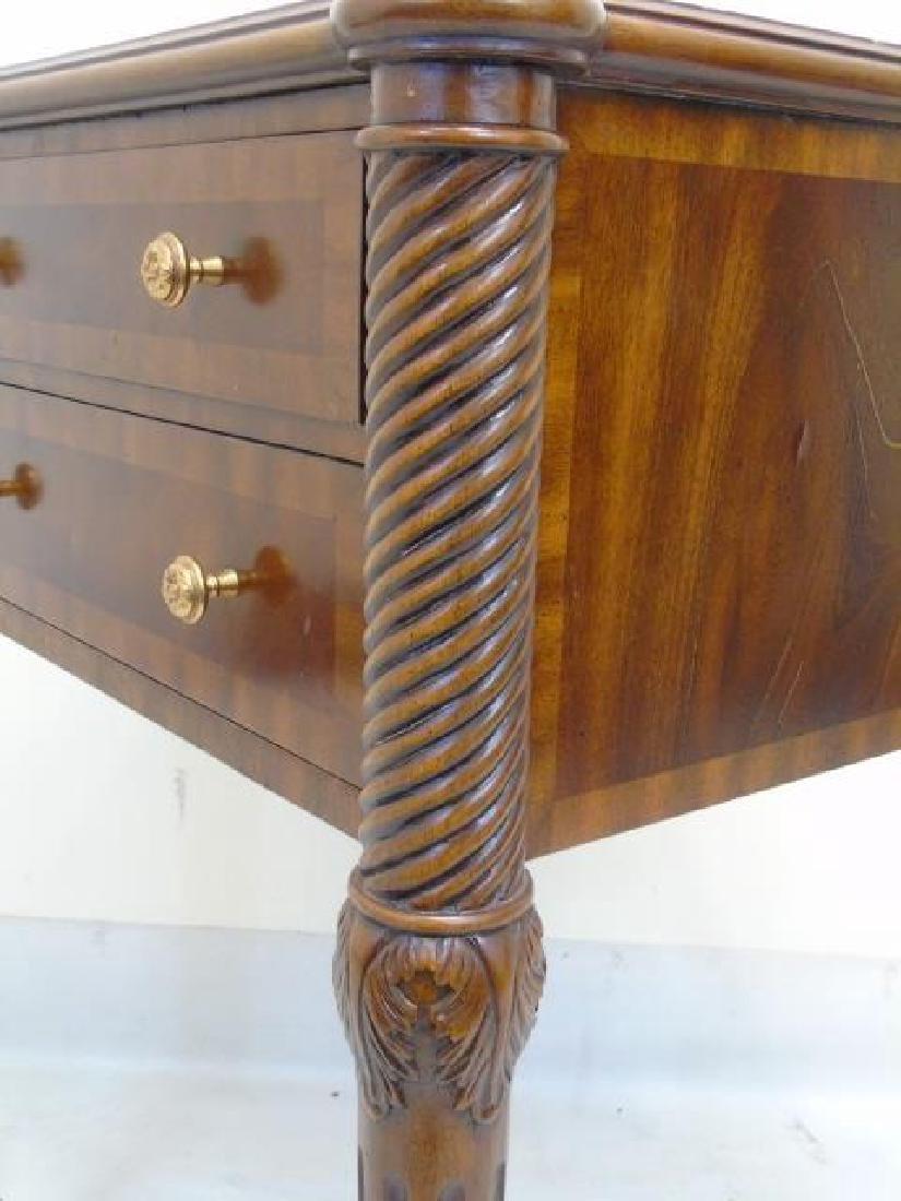 Maitland Smith Barley Twist Detail End Table - 5