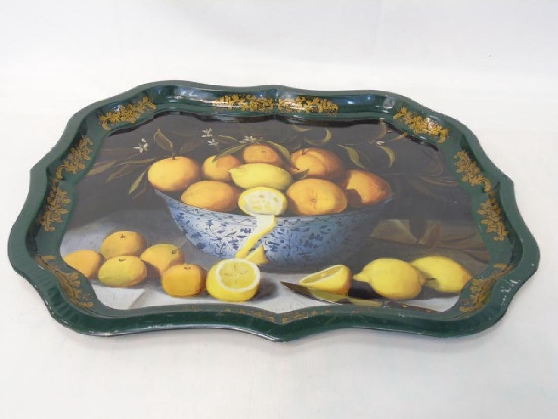 Limoges Plates, Tina Higgins Plates & Metal Tray - 3