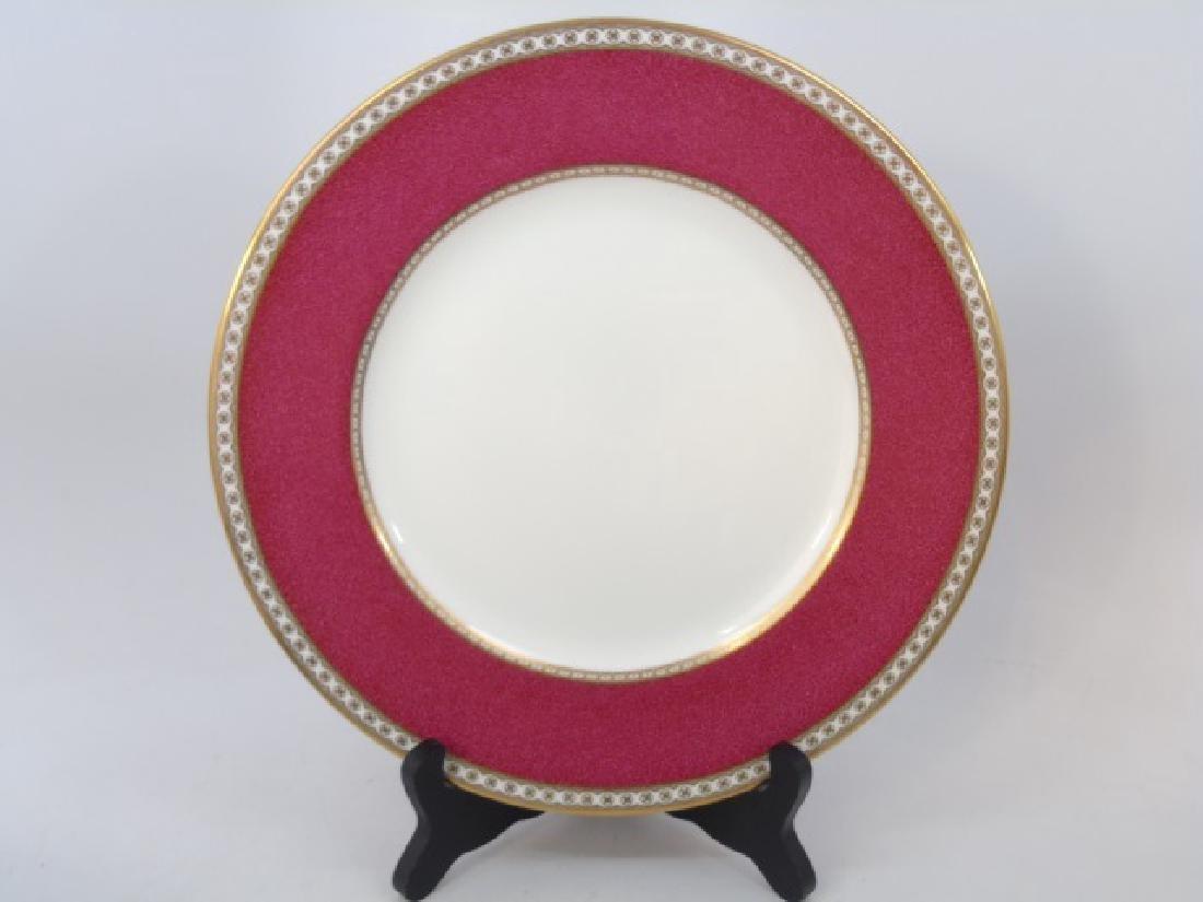 "8 Wedgwood Ulander Pattern 11"" Dinner Plates - 3"