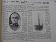 """Antique Book """"Kings Views of the Panama Canal"""""""