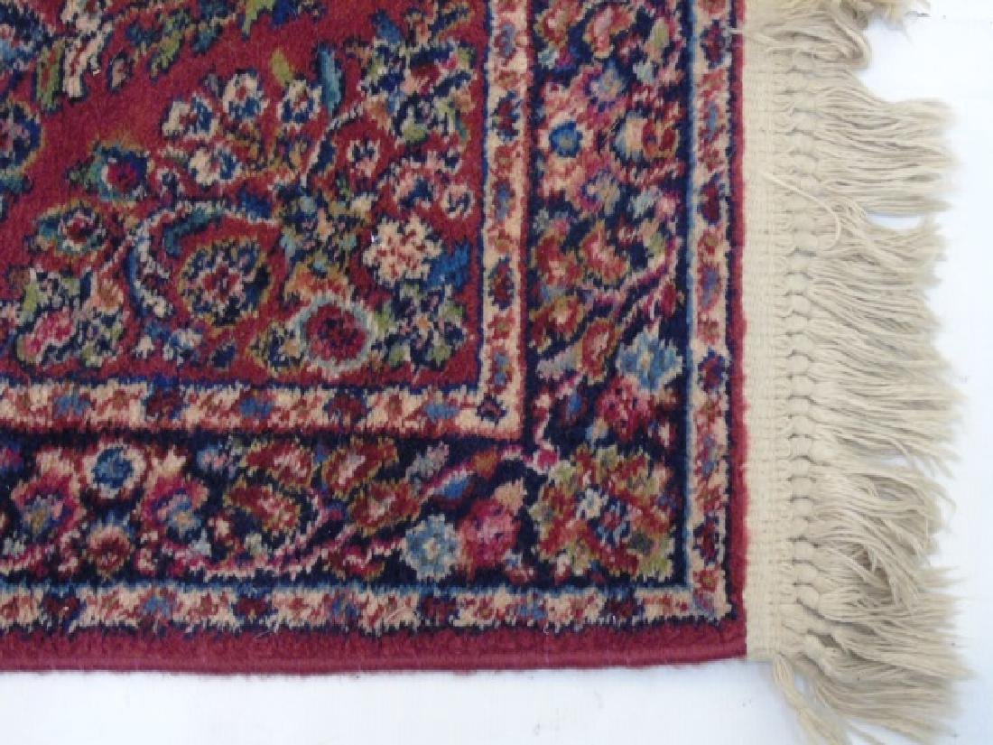 Two Vintage Oriental Carpets - Runner & Throw - 2