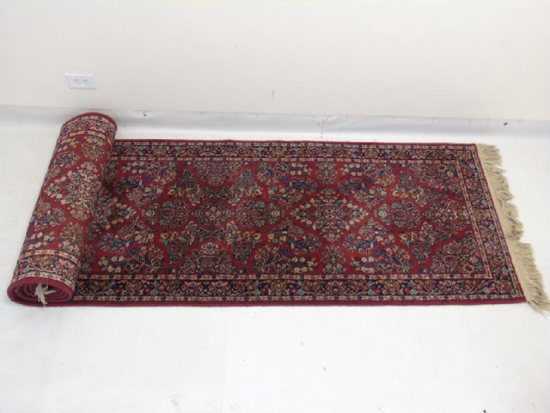 Two Vintage Oriental Carpets - Runner & Throw - 3