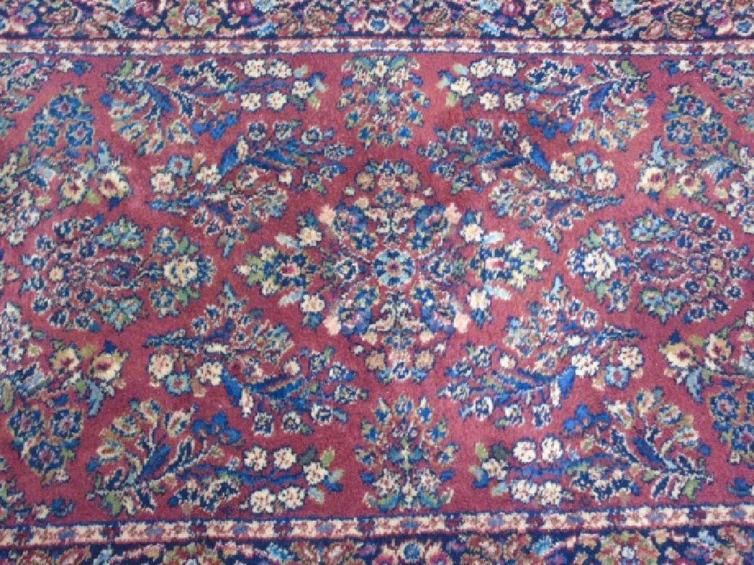 Two Vintage Oriental Carpets - Runner & Throw - 4