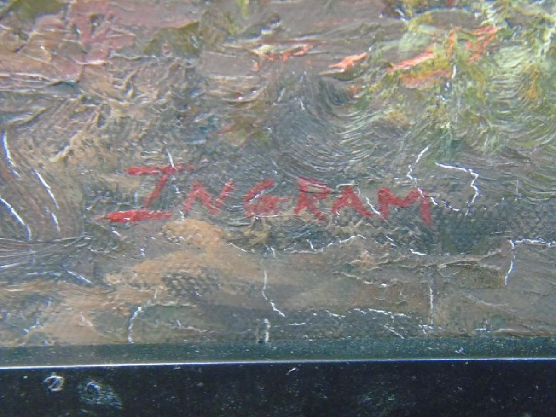 Ingram - Contemporary Painting on Canvas of Tiger - 2