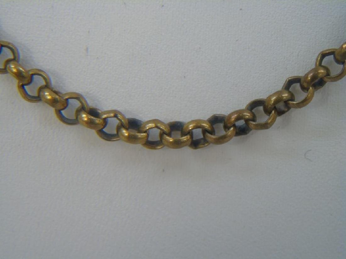Antique Victorian Yellow Gold Necklace / Chain - 3
