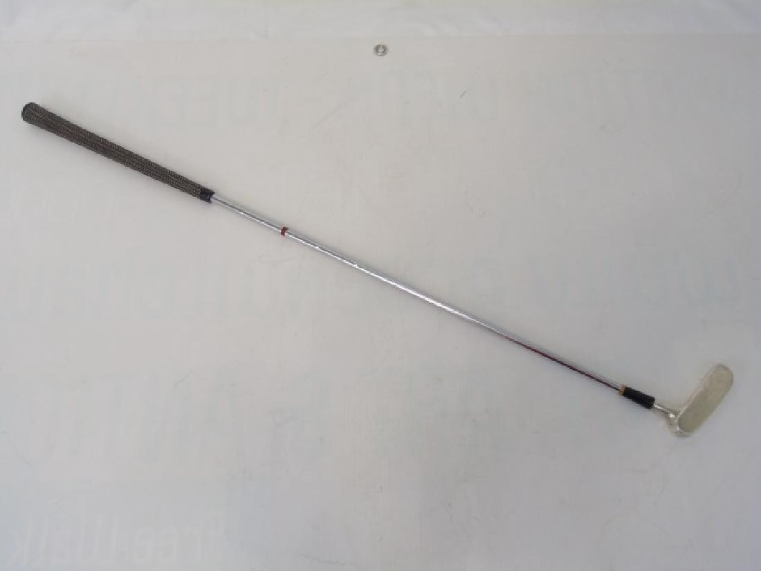 Vintage Presentation Sterling Silver Golf Putter