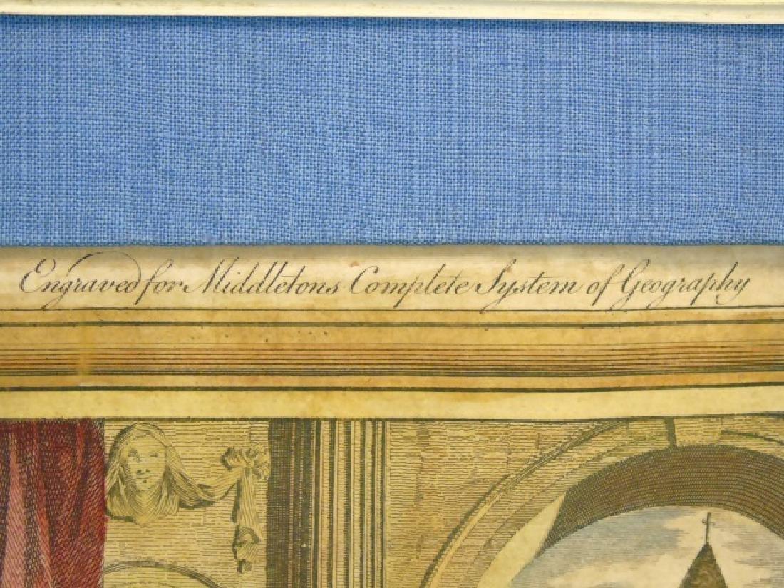 Antique Christopher Columbus Framed Engraving - 2