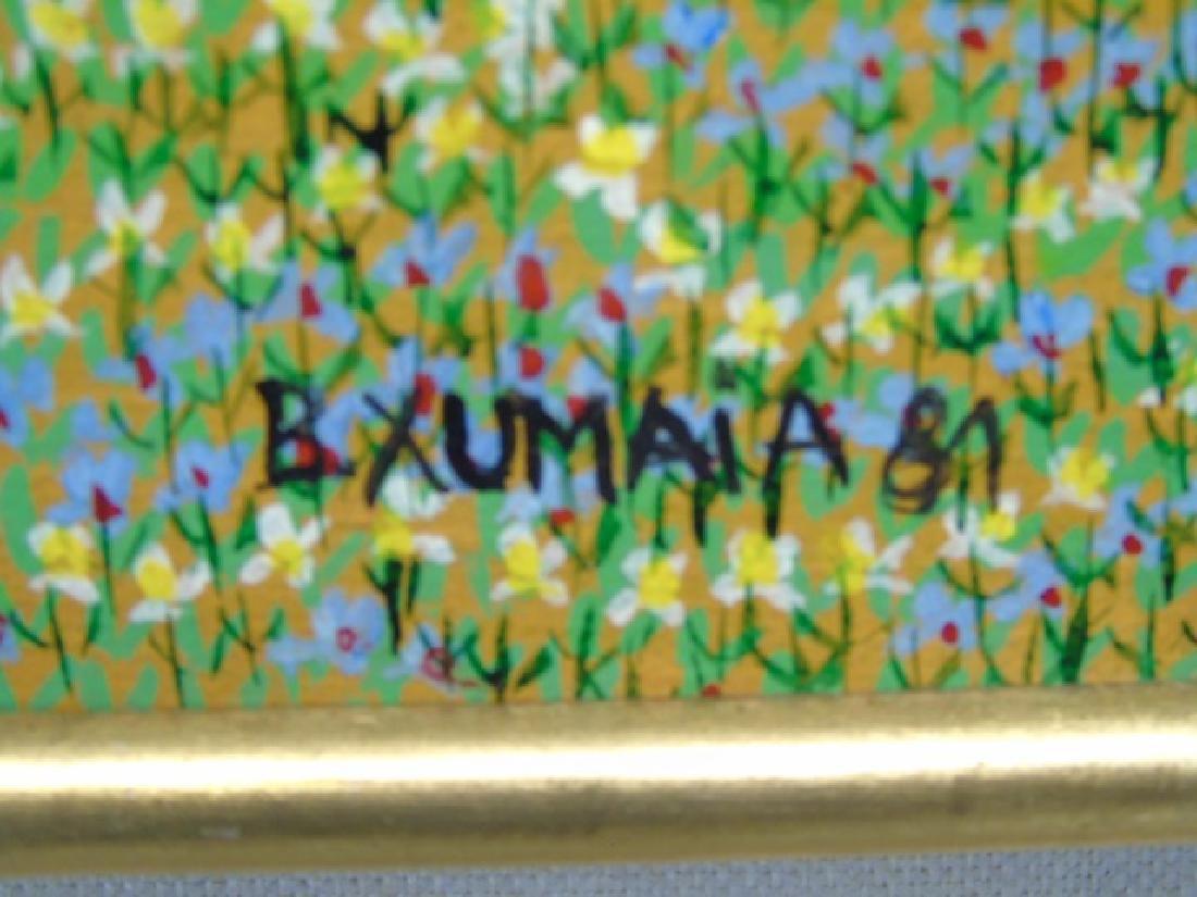 Naive Painting on Canvas by Barbara Xumaia 1981 - 2