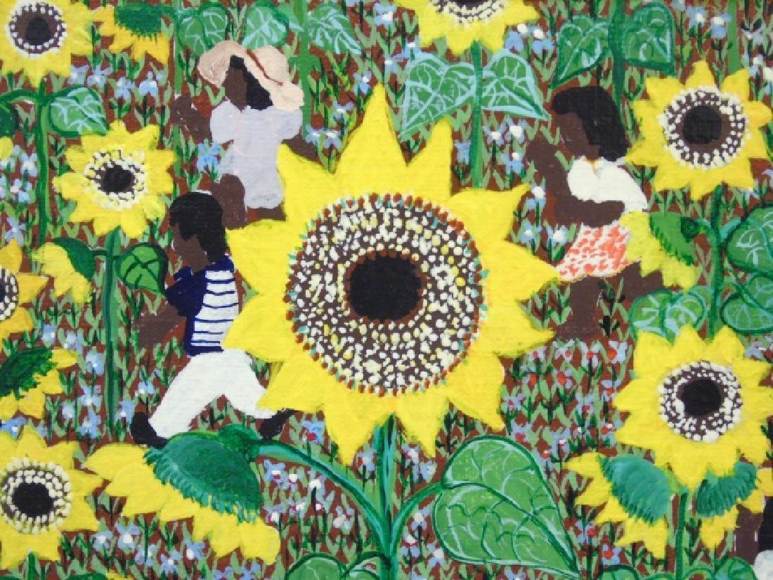 Naive Painting on Canvas by Barbara Xumaia 1981 - 3