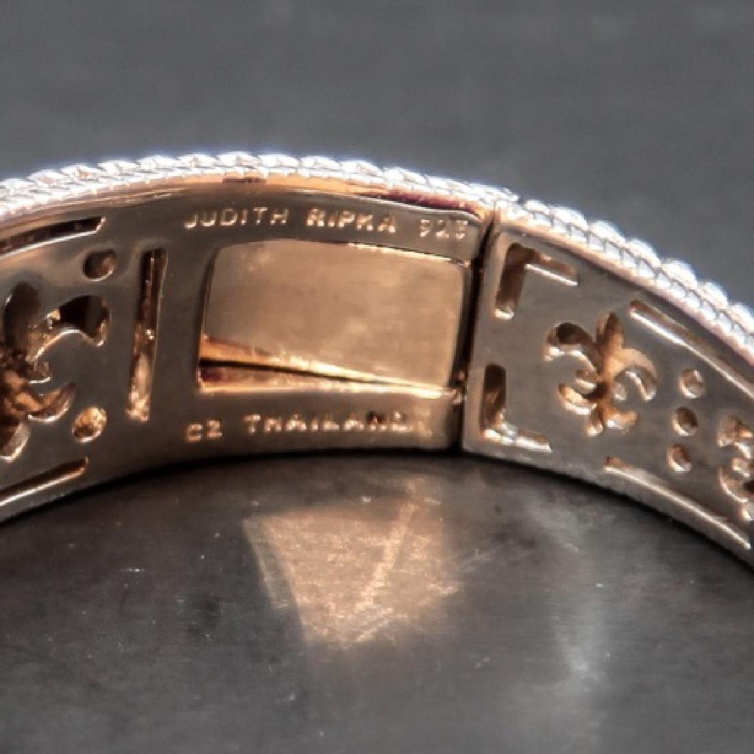 Judith Ripka Sterling Silver Cuff Bracelet in Box - 2