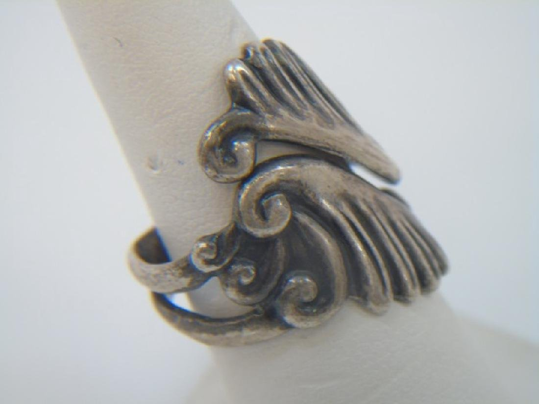 Vintage Sterling Mexican & Native American Jewelry - 3