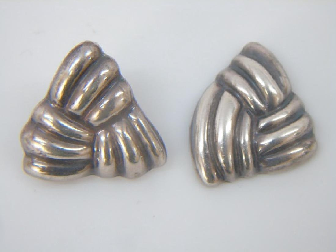 Vintage Sterling Mexican & Native American Jewelry - 5