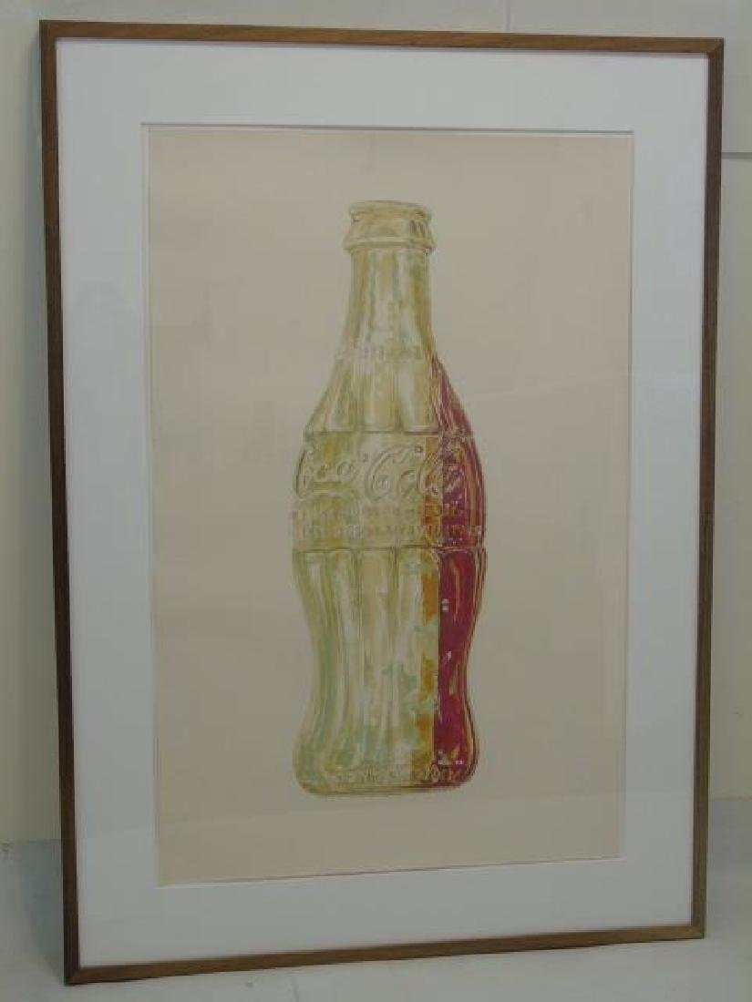 Don Nice Signed & Numbered Modern Art, Coca-Cola
