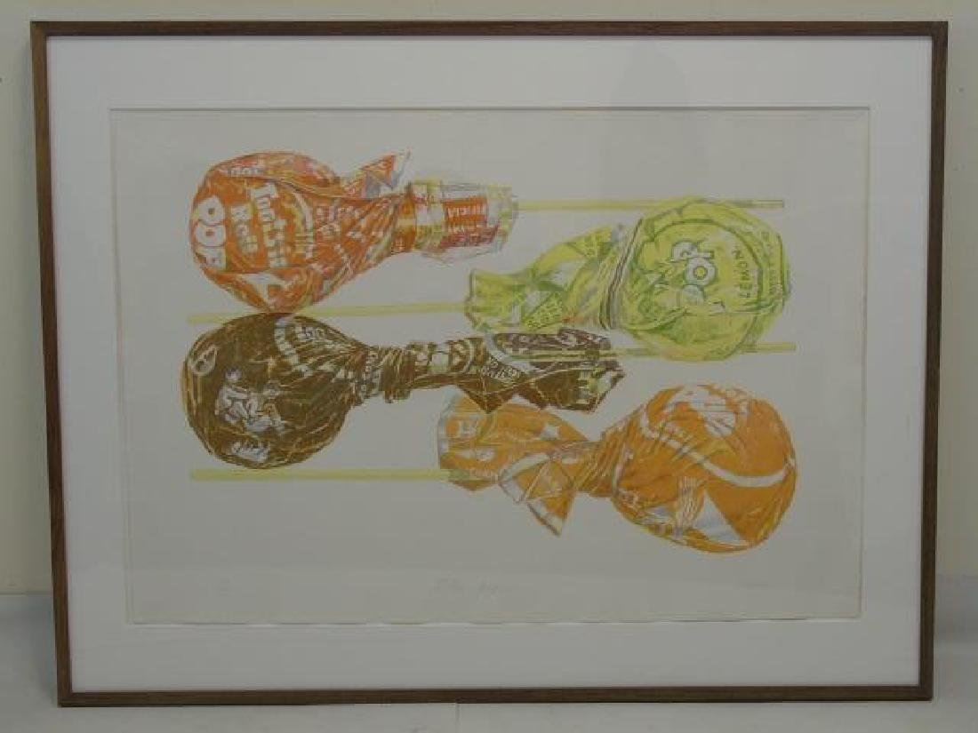 Don Nice Signed & Numbered Modern Art, Tootsie Pop