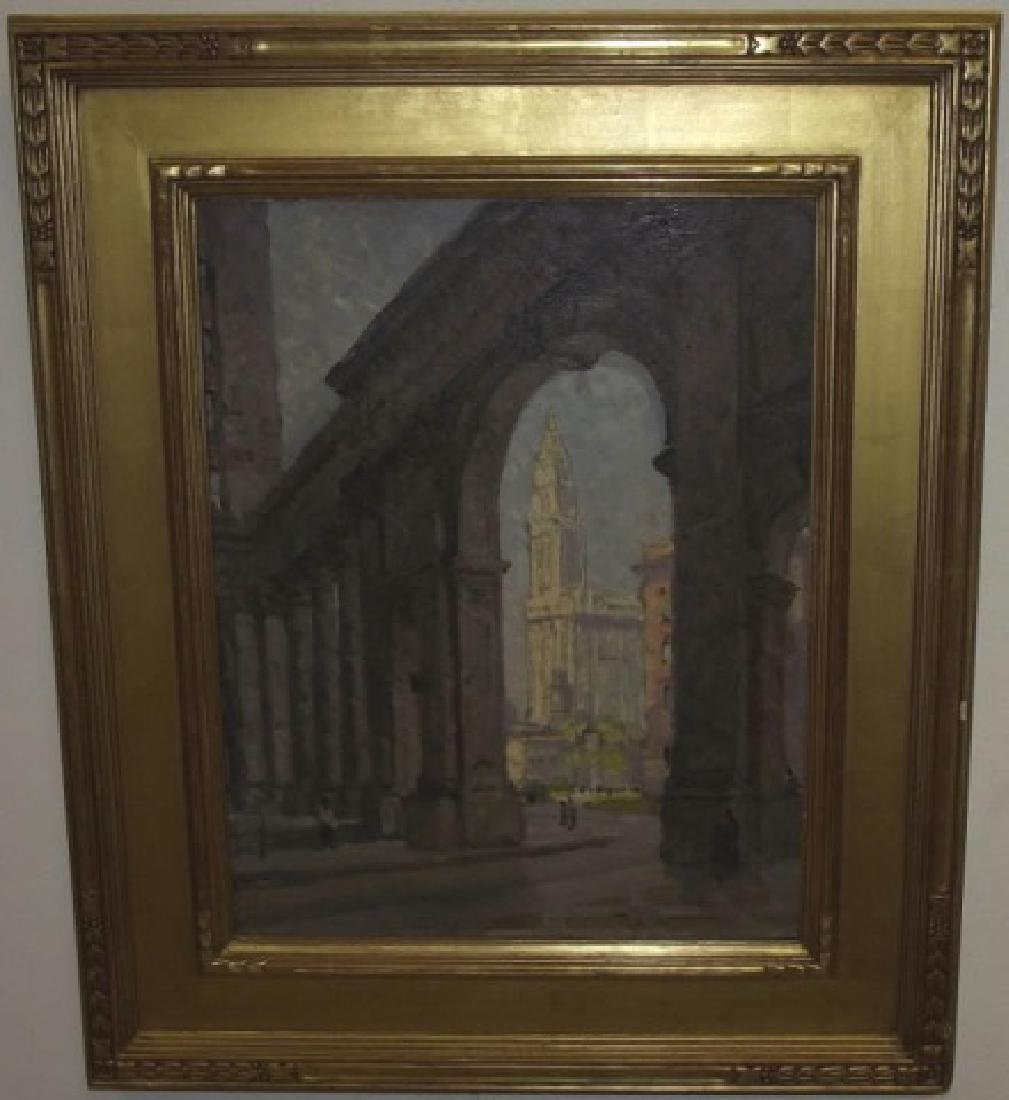 Colin Cooper - Oil Painting of Woolworth Building