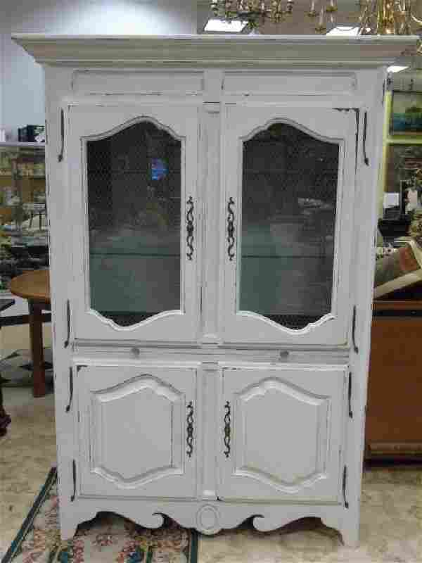 French Country Armoire / Desk Ethan Allen