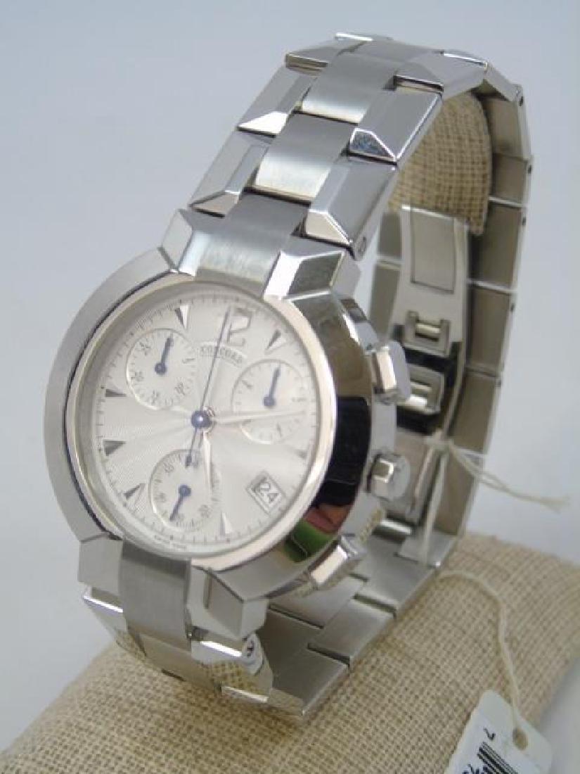 Men's Concord LaScala Chronograph Watch New in Box