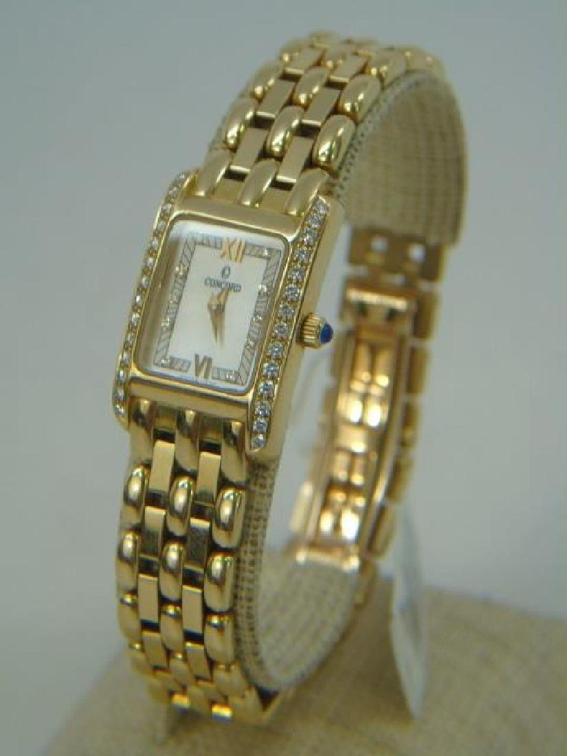 Lady's 18kt Gold Concord Veneto Watch New in Box