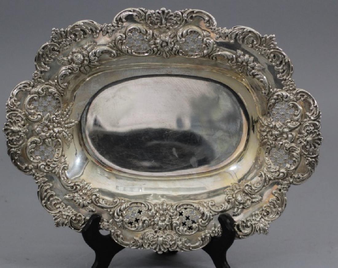 Large Antique Tiffany & Co Repousse Serving Bowl